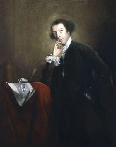 Horace Walpole - Autor der ersten Gothic Novel