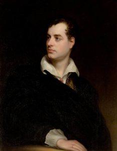 Lord Byron ist der Gastgeber in der Villa Diodati