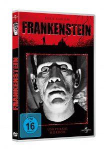 Frankenstein - Den Klassiker gibt es heute ungeschnitten auf DVD und BluRay