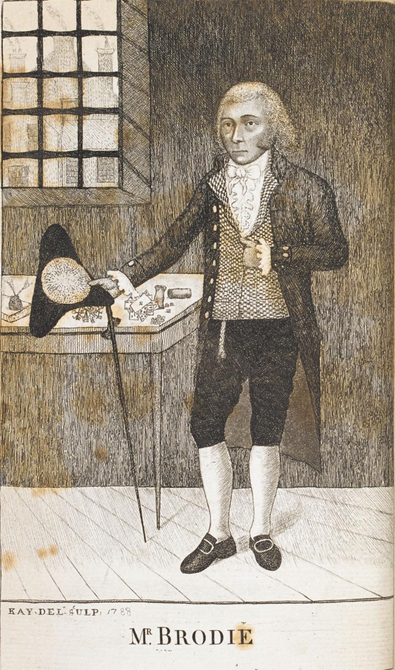William Brodie - Eigentlich ein angesehener Zimmermann